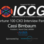 Fortune 100 CXO Interview Panel Cassi Birnbaum President / Board Chair, AHIMA